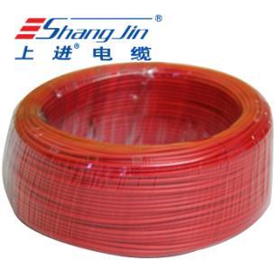 上海名牌 BVR2.5 国标足米 铜芯软电线 100米