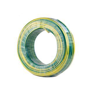 远东电缆黄绿BVR16平方国标家装进户铜芯电线单芯多股软线 100米