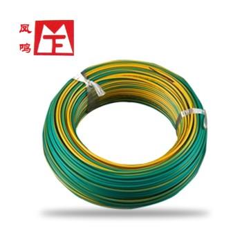 凤鸣电缆黄绿ZR-BV2.5平方国标阻燃铜芯 家装单芯硬线100米