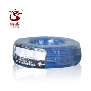 青岛通力电线蓝色 BV-4平方 国标正品 家装单股硬线铜芯线 包邮