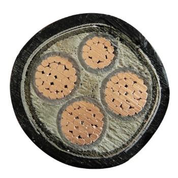 宏亮电缆YJV23 0.6/1kV 四芯电力电缆(3+1) 3*70+1*35