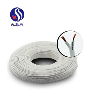 河南兴胜先胜牌白色 RVV2*0.75护套线 信号线/监控线/电源线 0.75平方国标铜芯软线 100米