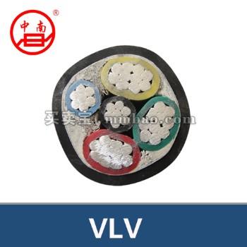常德金雁电线电缆 VLV 铝芯聚氯乙烯绝缘聚氯乙烯护套电力电缆 4*185