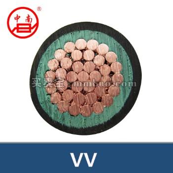 常德金雁电线电缆 VV铜芯聚氯乙烯绝缘聚氯乙烯护套电力电缆 3*70+1*35