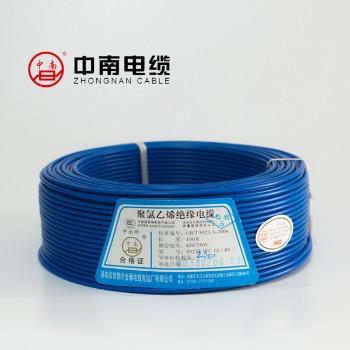 富达电线电缆黄色 BVR6平方国标铜芯电线100米