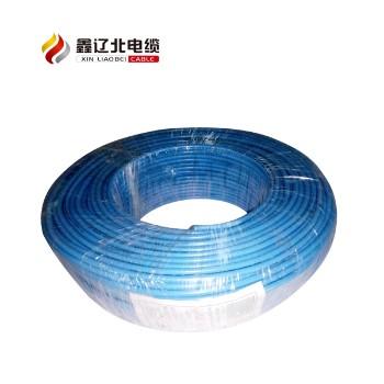 鑫辽北电线电缆蓝色 ZR-BV4平方国标铜芯电线95米