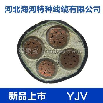 河北海河 0.6/1kV YJV铜芯交联聚乙烯绝缘聚氯乙烯护套电力电缆 3*2.5