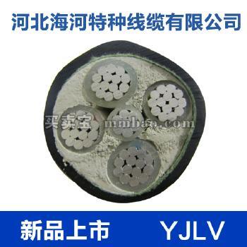 河北海河  0.6/1kV YJLV铝芯交联聚乙烯绝缘聚氯乙烯护套电力电缆 1*35