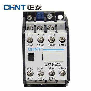 正泰交流接触器 CJX1-9/22 线圈电压(控制电压)  AC24V、36V、48V、220V、380V