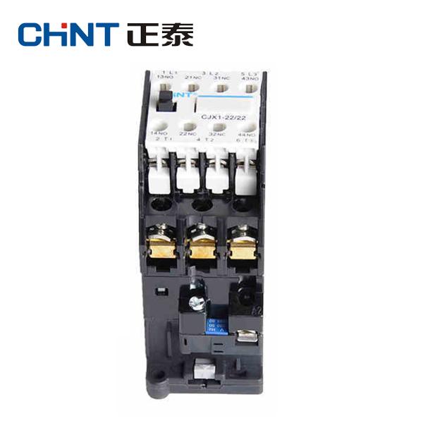 正泰交流接触器 CJX1-22/22 线圈电压(控制电压)  AC24V、36V、48V、220V、380V