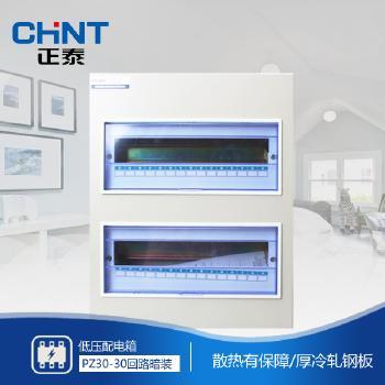 正泰电器 照明箱 PZ30-30回路