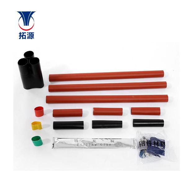 拓源 中压电缆附件 10kV热缩户内终端 单芯/三芯(不含金具)
