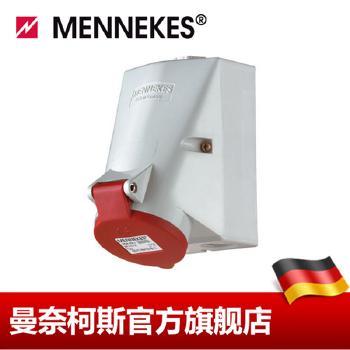 曼奈柯斯 明装插座  壁装式插座货号 1419 16A-6h/400V~3P+N+E IP44