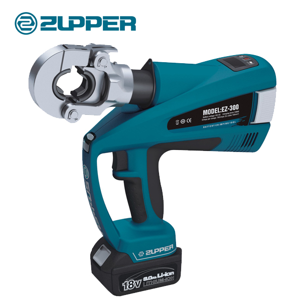 【巨力工具】 充电式压接工具 BZ-300 磨具另配