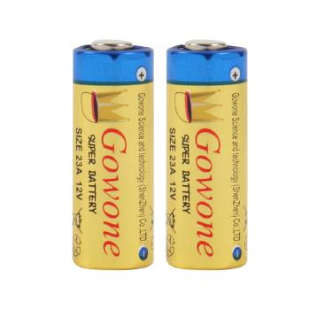 Gowone购旺 无汞环保碱性电池出口简装 23A 12V 引闪器防盗器门铃电池