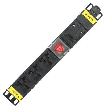 Gowone购旺 PDU机柜插座   工业插排  非常规接线板 工程插座 配线自接 3位 16A万用孔 WD3 自接线
