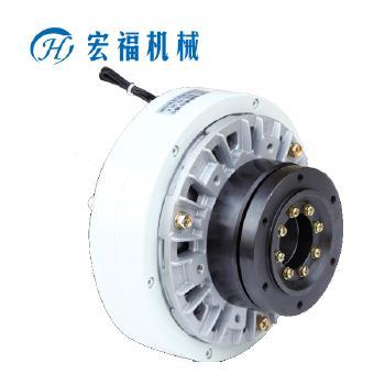 宏福 CJKF法兰输入、空心轴输出止口支撑同侧式磁粉离合器