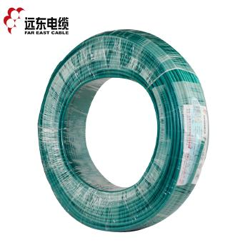 远东电缆ZC-BVR1.5平方国标家装照明用铜芯电线单芯多股软线 100米 绿色