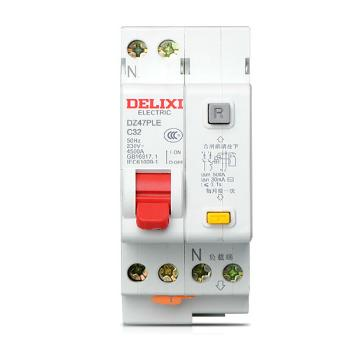 德力西电气 微型断路器(小型断路器);DZ47PLE 1P+N C 40A