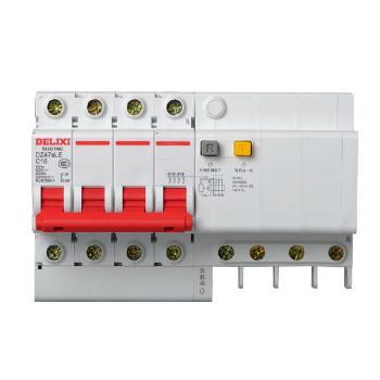 德力西电气 微型断路器(小型断路器);DZ47sLE 4P C 20A