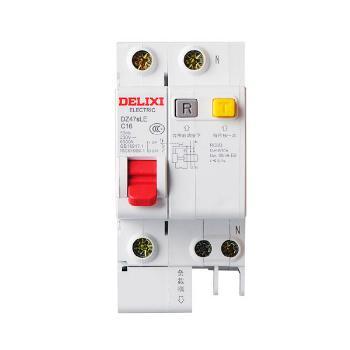 德力西电气 微型断路器(小型断路器);DZ47sLE 1P+N C 32A
