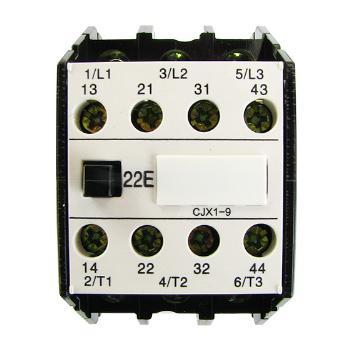 德力西电气 低压接触器;CJX1-9/22 50Hz 24V