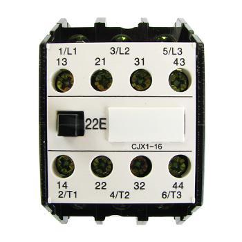 德力西电气 低压接触器;CJX1-16/22 50Hz 24V