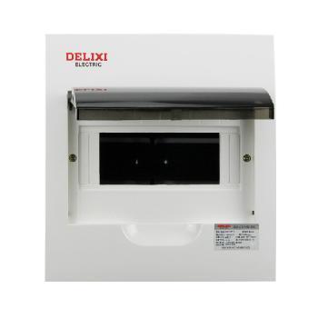 德力西电气 配电箱;PZ50-6回路(明装式 标准型)