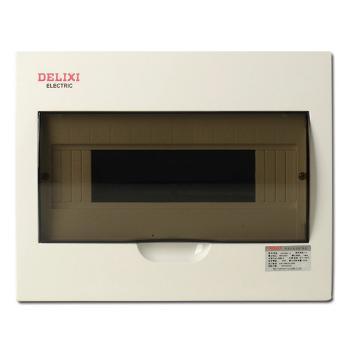 德力西电气 配电箱;PZ50-12回路(明装式 标准型)