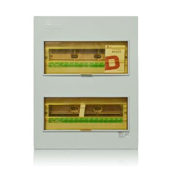 德力西电气 配电箱;CDPZ30S-36 回路 暗装式 基础型