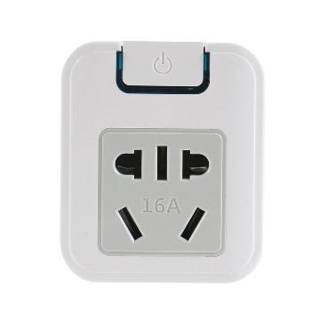 Gowone购旺 电源功率转换器 便携旅行插座 墙面电源拓展插排 三角插头小转大带两插