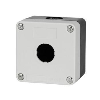 德力西電氣 防濺盒;LAY5s-HZ 1孔白面蓋(按鈕盒)