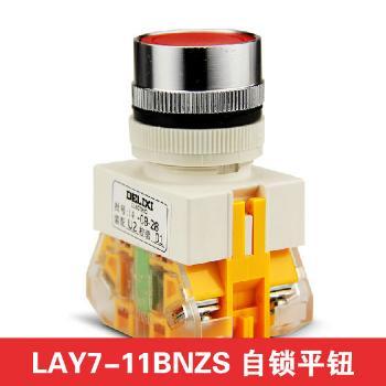 德力西电气 按钮开关;LAY7-11BNZS 红