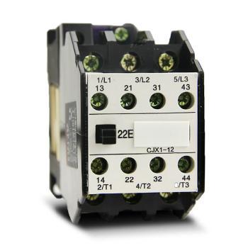 德力西电气 低压接触器;CJX1-12/22Z 50Hz 24V
