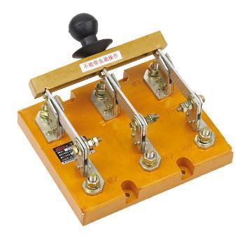 德力西电气 刀开关;HD11-100/38 胶板