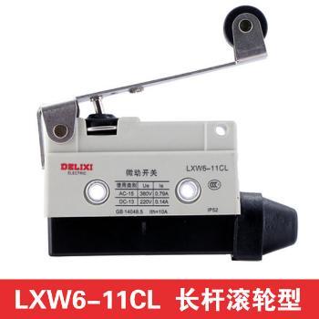 德力西电气 行程开关;LXW6-11CL 长杆滚轮型