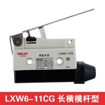 德力西电气 行程开关;LXW6-11CG 长横模杆型