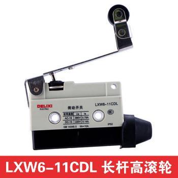 德力西电气 行程开关;LXW6-11CDL 长杆单向滚轮型