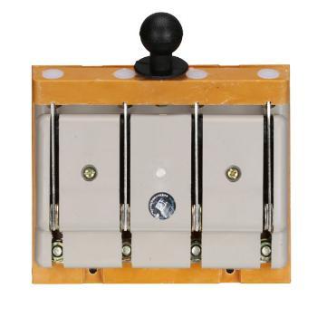 德力西电气 刀开关;HD11-100/48 胶板 带保护罩