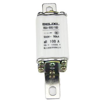 德力西电气 低压熔断器;RS0-600/600A