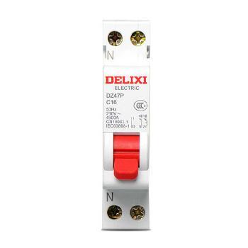 德力西电气 微型断路器(小型断路器);DZ47P 1P+N C 32A