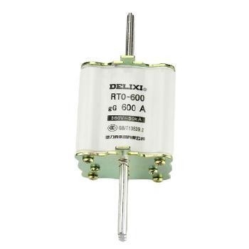 德力西电气 低压熔断器;RT0-600 体 600A 380V