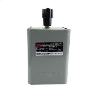 德力西電氣 倒順開關;HY2-15A(鐵殼)