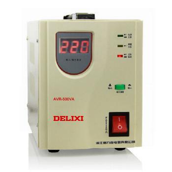 德力西电气 稳压电源;AVR-0.5KVA家用自动交流稳压器