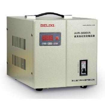 德力西电气 稳压电源;AVR-3KVA家用自动交流稳压器