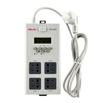 德力西电气 插线板;KG316TS 10A AC220V