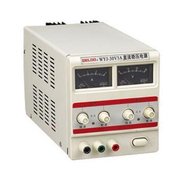 德力西电气 稳压电源;WYJ 0-30V/5A 单路 (可调) 数显