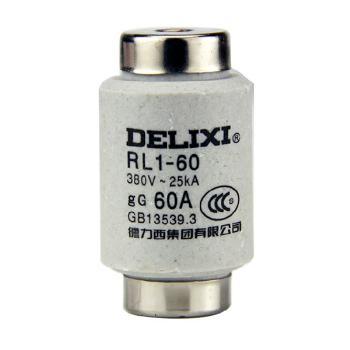 德力西电气 低压熔断器;RL160T60A