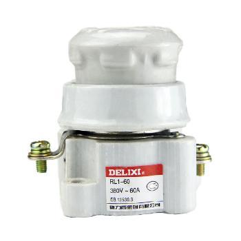 德力西电气 低压熔断器;RL1-60 座