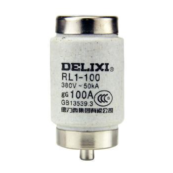 德力西电气 低压熔断器;RL1-100 体 100A